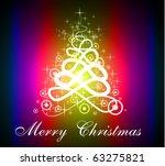 fluorescent red purple... | Shutterstock . vector #63275821