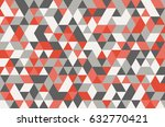 abstract retro pattern of... | Shutterstock .eps vector #632770421