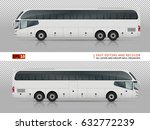 vector bus on transparent... | Shutterstock .eps vector #632772239