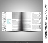 scandinavian style business or... | Shutterstock .eps vector #632772299