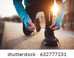 jogging and running are healthy ... | Shutterstock . vector #632777231