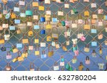 abstraction from key of love... | Shutterstock . vector #632780204