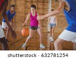determined high school kids... | Shutterstock . vector #632781254
