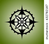 decorative tribal ornament | Shutterstock .eps vector #632782187