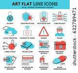 modern flat design vector... | Shutterstock .eps vector #632789471