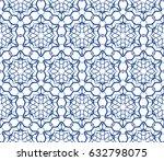 decorative ethnic ornament.... | Shutterstock .eps vector #632798075