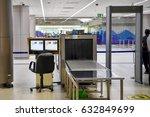 scanner the bag   Shutterstock . vector #632849699