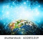 best internet concept of global ...   Shutterstock . vector #632851319