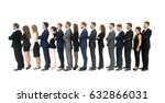 profile of a business team in a ... | Shutterstock . vector #632866031