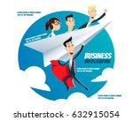 business infographic   a super... | Shutterstock .eps vector #632915054