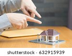 mortgage home | Shutterstock . vector #632915939