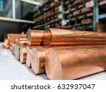 copper material store | Shutterstock . vector #632937047