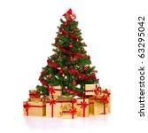 Isolated Christmas Tree.