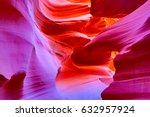 Famous antelope canyon near...