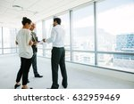 business people standing at new ... | Shutterstock . vector #632959469