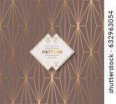 abstract pattern in arabian... | Shutterstock .eps vector #632963054