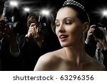 photographers are taking a... | Shutterstock . vector #63296356