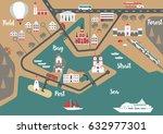 vector scheme of nonexistent...   Shutterstock .eps vector #632977301