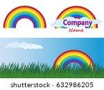 vector isolated summer flat...   Shutterstock .eps vector #632986205