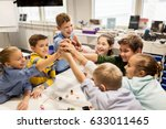 education  children  technology ... | Shutterstock . vector #633011465