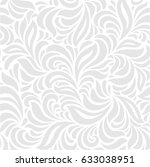 grey abstract seamless  pattern | Shutterstock .eps vector #633038951