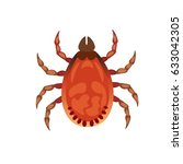 vector illustration of tick.... | Shutterstock .eps vector #633042305