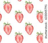 watercolor seamless pattern...   Shutterstock . vector #633045791