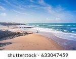 cresmina beach in cascais  ... | Shutterstock . vector #633047459