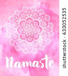 mandala vector illustration...   Shutterstock .eps vector #633052535