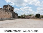 the great ball court for... | Shutterstock . vector #633078401