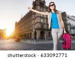 tourist. | Shutterstock . vector #633092771