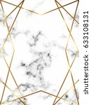 vector marble background with... | Shutterstock .eps vector #633108131