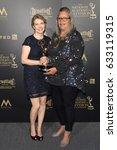 Small photo of PASADENA - APR 28: Ania O'Hare, Mary Hidalgo at the 44th Daytime Creative Arts Emmy Awards Gala at the Pasadena Civic Center on April 28, 2017 in Pasadena, CA