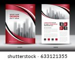 business brochure flyer... | Shutterstock .eps vector #633121355
