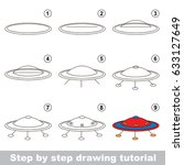 kid game to develop drawing... | Shutterstock .eps vector #633127649