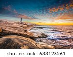 Peggy\'s Cove Lighthouse Sunset...