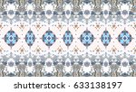 colorful mosaic pattern for... | Shutterstock . vector #633138197