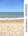 Seascape With Shallow Depth Of...
