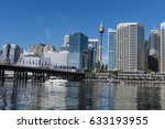 darling harbour  sydney ... | Shutterstock . vector #633193955