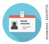 identity icon | Shutterstock .eps vector #633195731