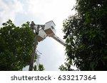 electrician is working | Shutterstock . vector #633217364