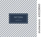 geometric pattern. vector... | Shutterstock .eps vector #633228065