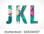 vector alphabet set. retro...   Shutterstock .eps vector #633236537