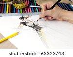 fashion design | Shutterstock . vector #63323743