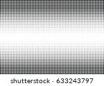 abstract halftone dotted... | Shutterstock .eps vector #633243797