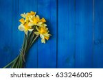 Yellow Daffodils Bouquet On...