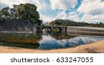 panoramic image of the imperial ... | Shutterstock . vector #633247055