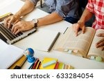 education concept. students... | Shutterstock . vector #633284054