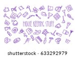 seamless pattern of forty six... | Shutterstock .eps vector #633292979