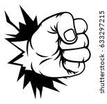 a pop art comic book cartoon... | Shutterstock .eps vector #633297215